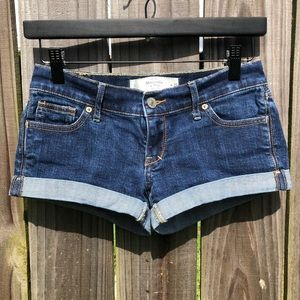 Abercrombie & Fitch Denim Shorts 25 0